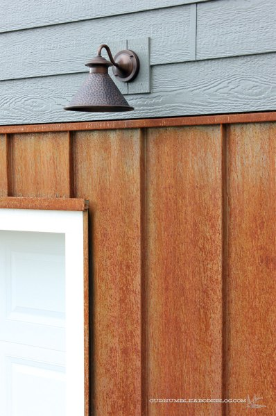 Rusted Steel Amp Curb Appeal