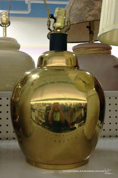 Brass-Lamp