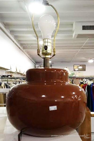 Brown-Lamp