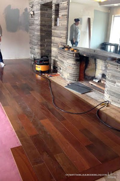 Start-of-Brazilian-Walnut-Floors-at-Ashleys