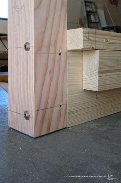 Building-Bed-Frame-Post-Detail