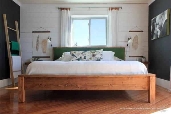 King-Bed-Frame-Finished-in-Bedroom
