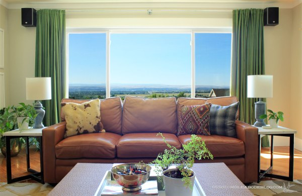 Leather-Sofa-in-Front-of-Living-Window