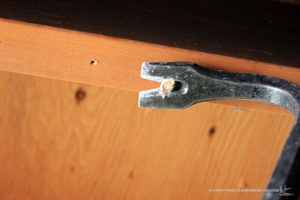 Basement-Demo-Pulling-Ceiling-Nails