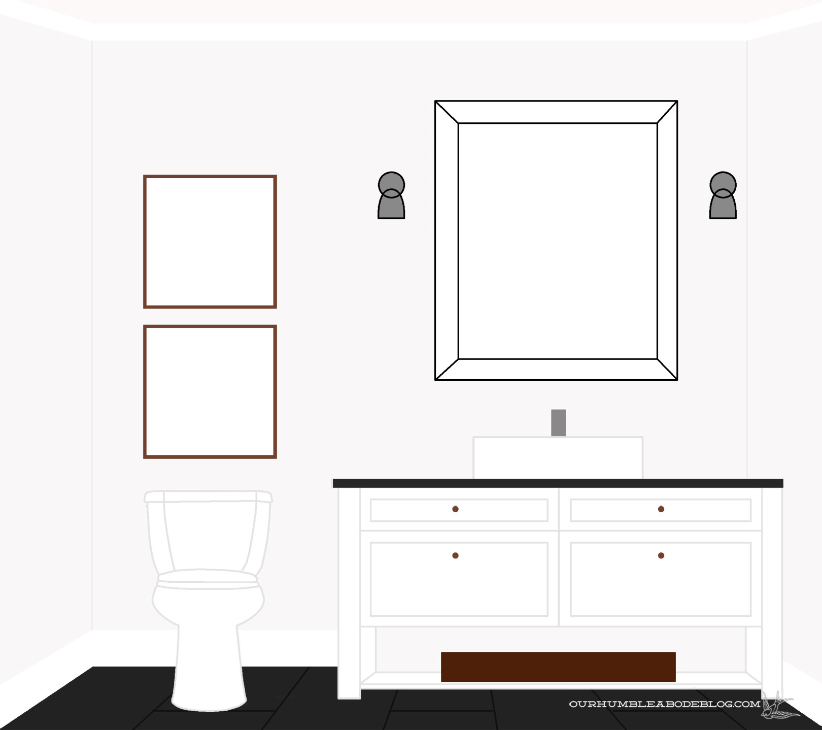 Modern Bathroom Vanity Building Plans designing a bathroom vanity