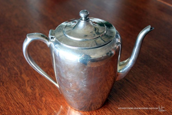 Thrifted-Silver-Teapot-Before-Cleaning