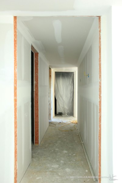 Basement-Hall-from-Theater-Sheetrock