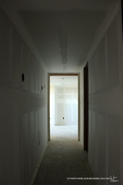 Basement-Hall-Toward-Theater-Sheetrock