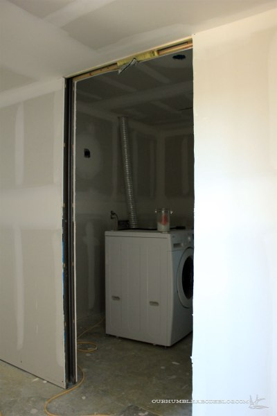 Basement-Laundry-Sheetrock