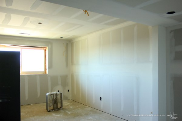 Basement-Theater-Window-Wall-Sheetrock