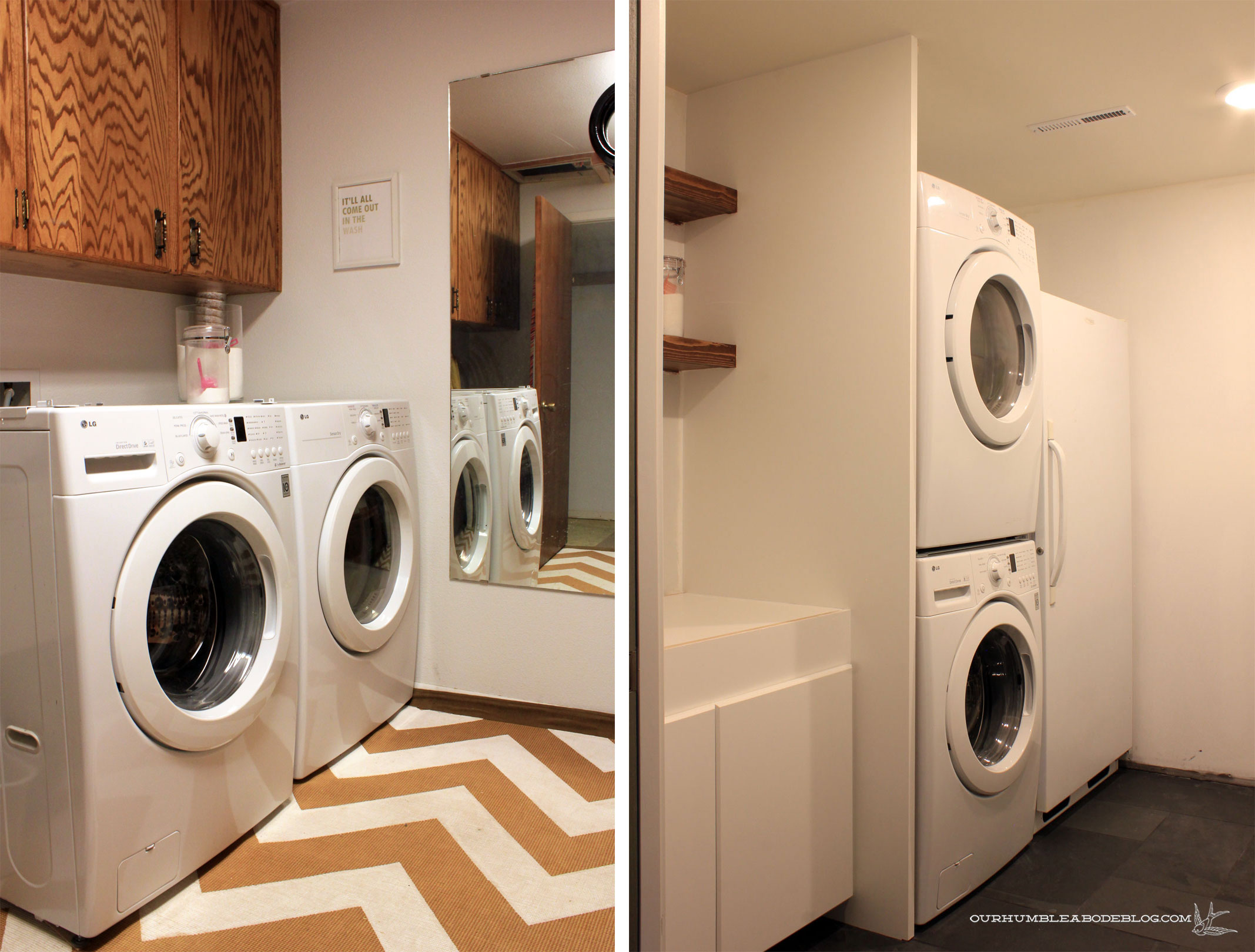 Basement Laundry Room Before And After Basement-Laundry-Room-...