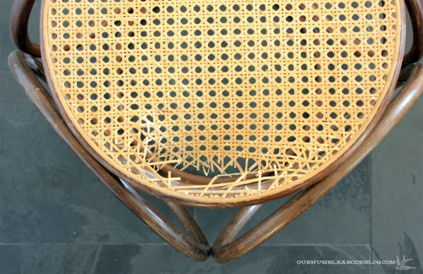Bentwood-Stool-Broken-Cane-Detail