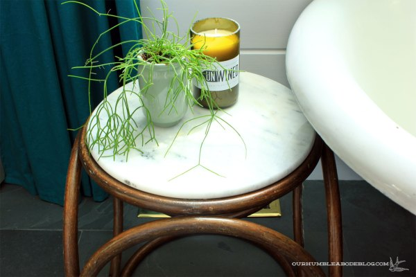 Bentwood-Stool-with-Marble-Top-by-Tub