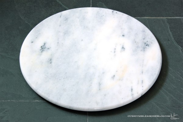 Marble-Serving-Board-for-Bentwood-Stool