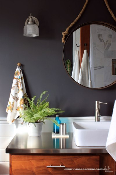 stainless-steel-counters-in-bathroom