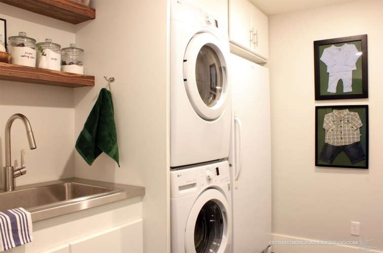 basement-art-clothes-in-laundry-room