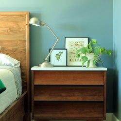 basement-art-in-guest-room