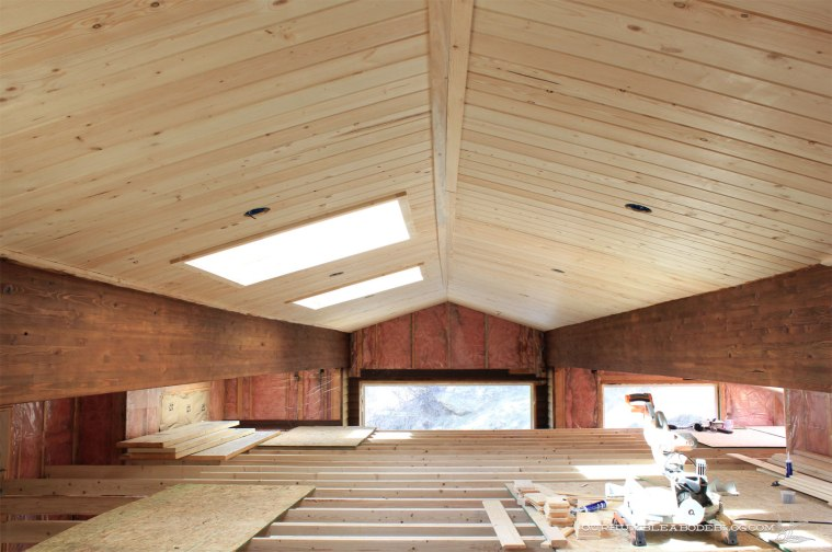 pool-house-beams-stained
