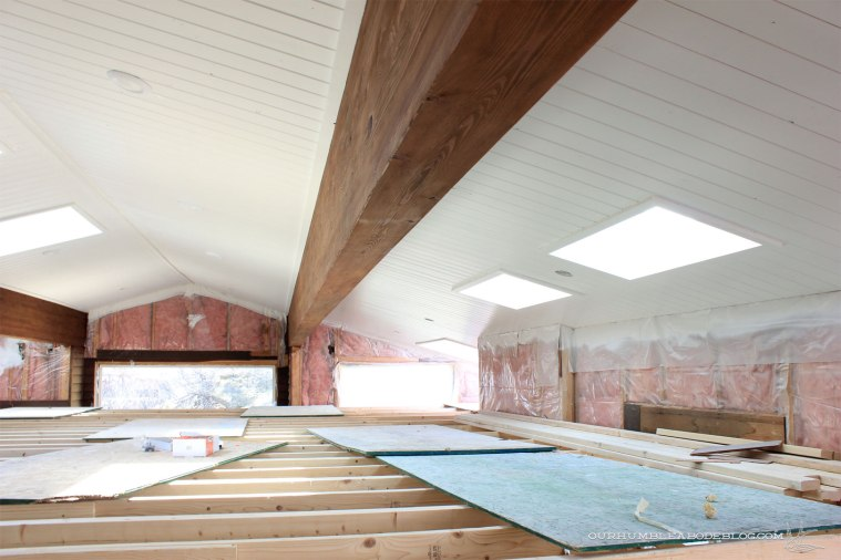 Pool-House-Ceiling-Painted-Below-Beam
