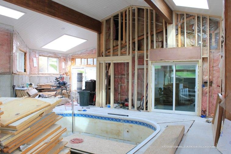 Pool-House-April-Progress-Kitchen-Door