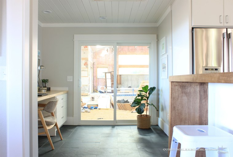Kitchen-Door-Painted-Toward-Pool