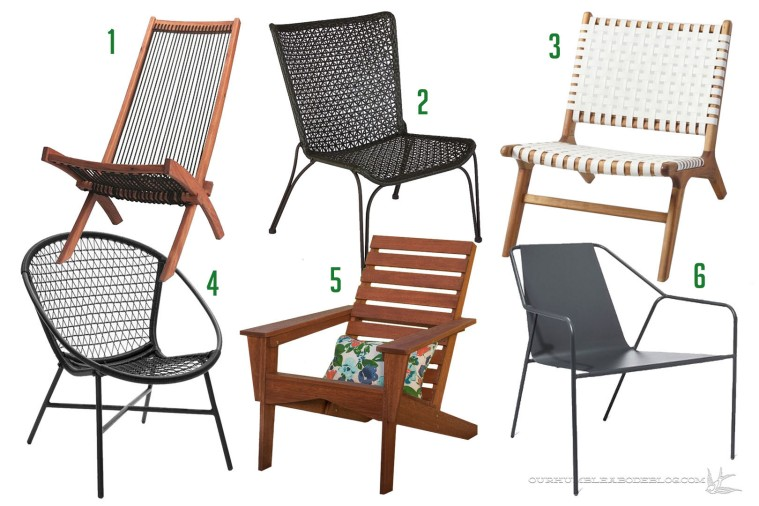 Outdoor Lounge Chair Round Up
