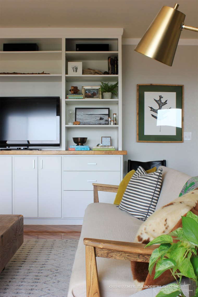 Complete-Entertainment-Center-Styled-with-Linen-Sofa