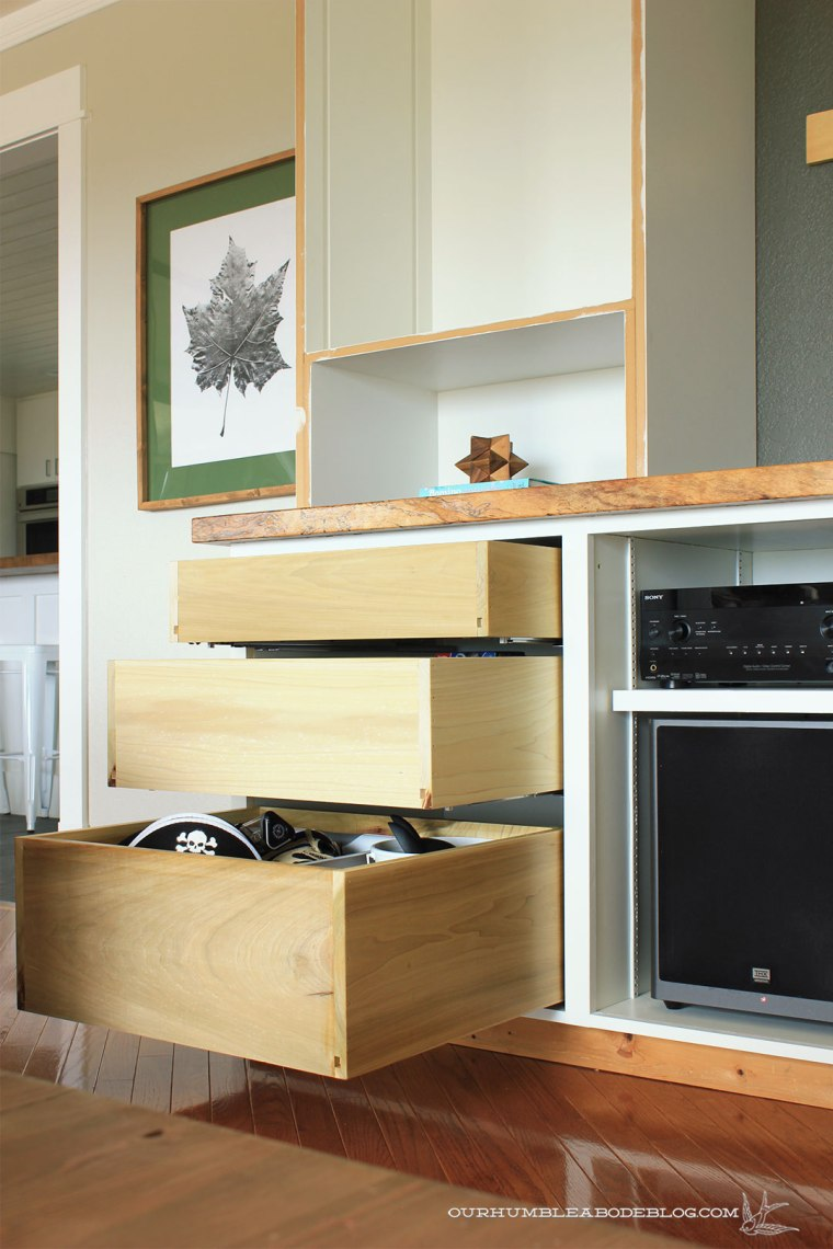 Entertainment-Center-Drawer-Bay-Detail