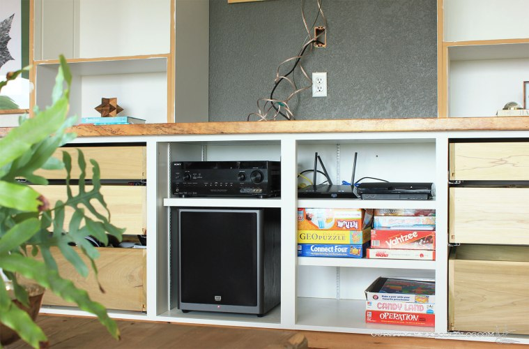 Entertainment-Center-Middle-Cabinet-Section