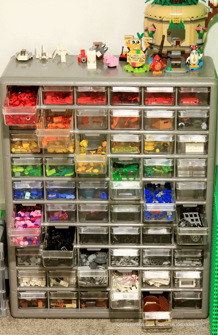 Storing-Legos-in-Stair-Space