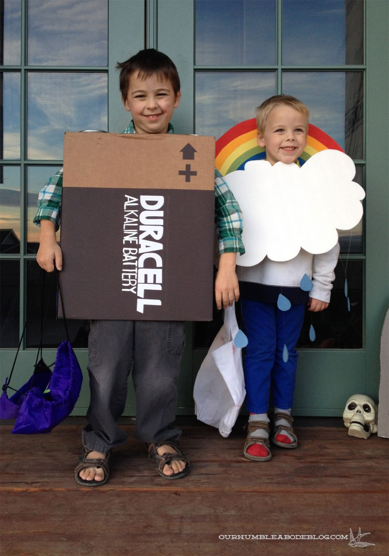 Battery-and-Rain-Cloud-Costumes