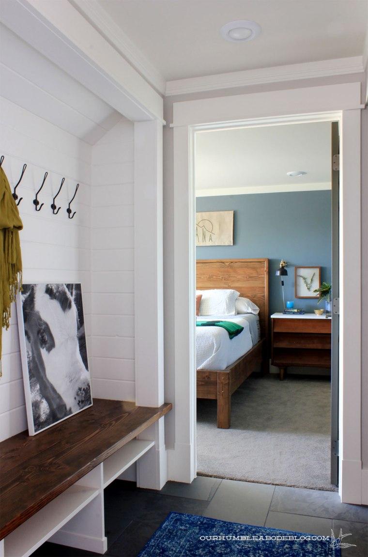 Montana-Flag-Art-in-Bedroom-from-Garage