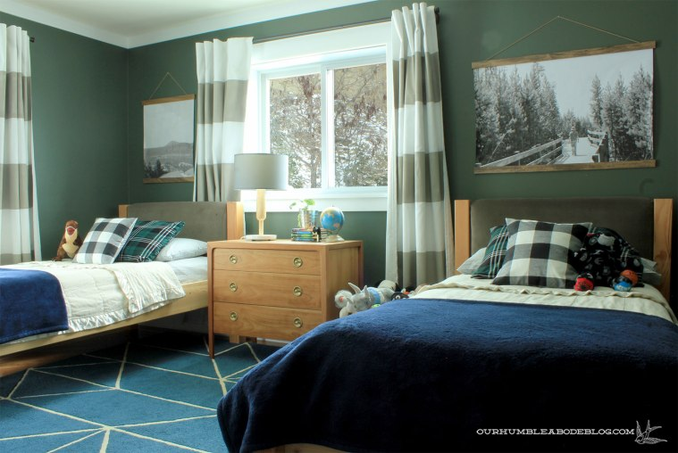 Boys-Bedroom-Painted-Vintage-Vogue-Overall