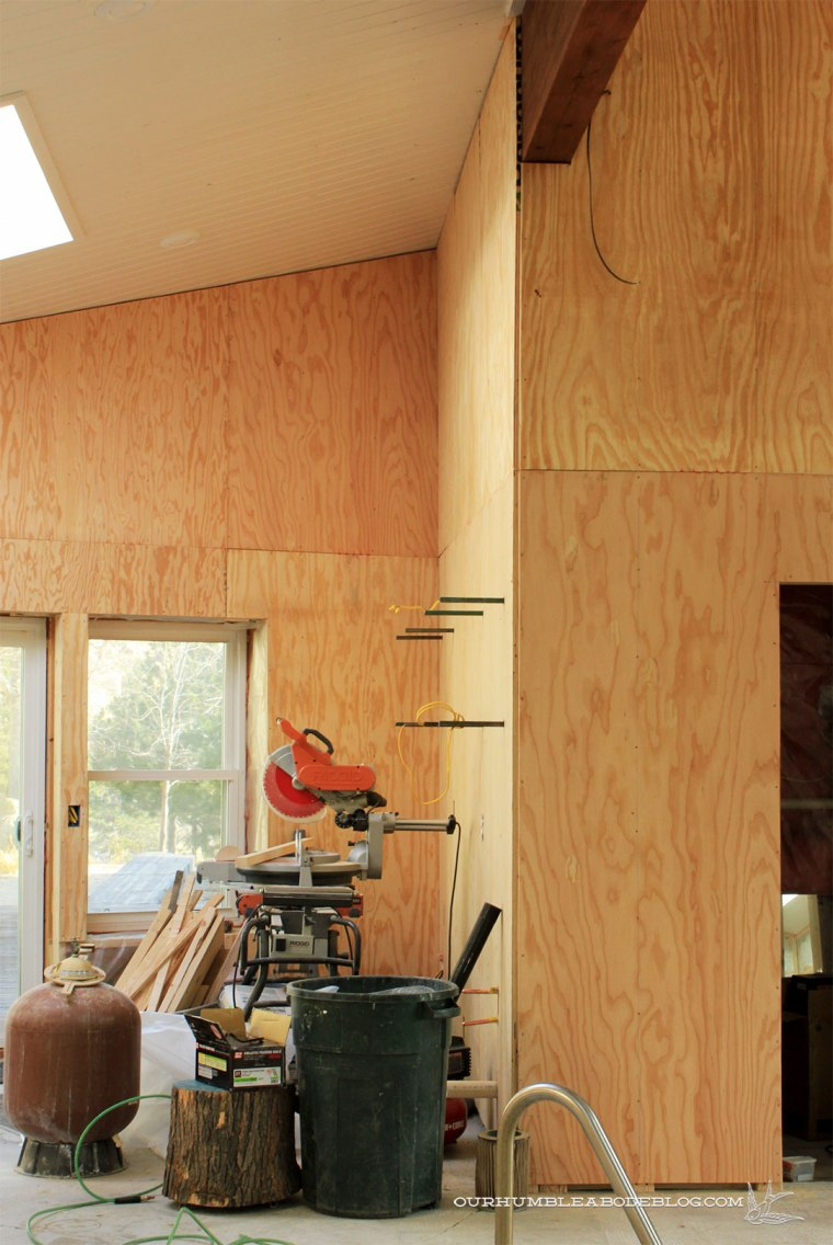 Pool-House-Plywood-Hung-in-Kitchen