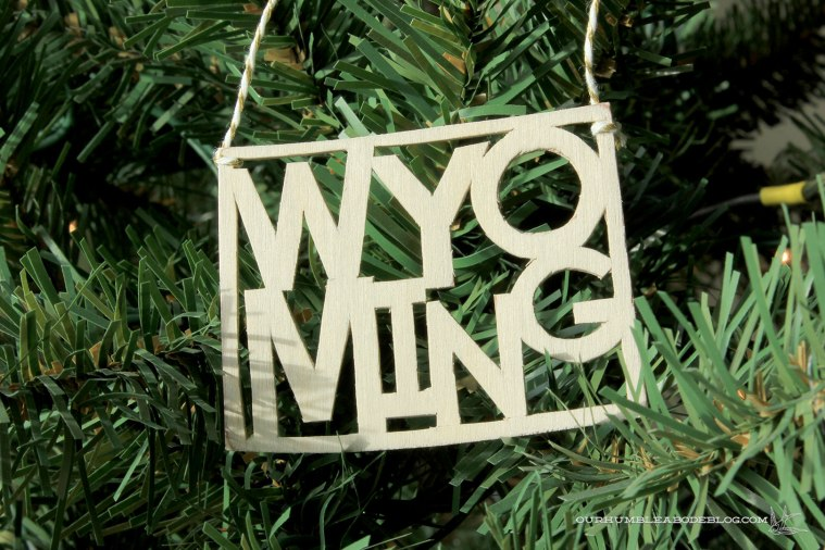 Wyoming-Ornament