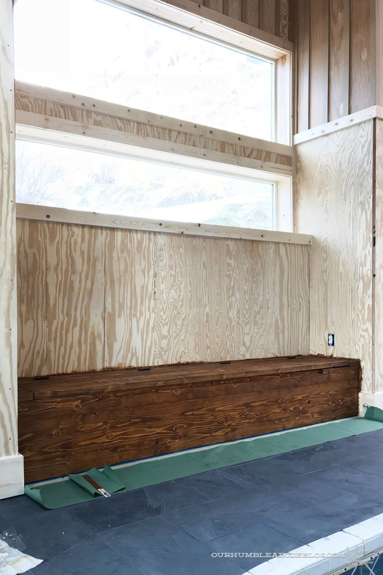 Built-in-Bench-Stained-End-Bench