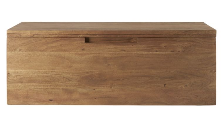 CB2 Wooden Bench