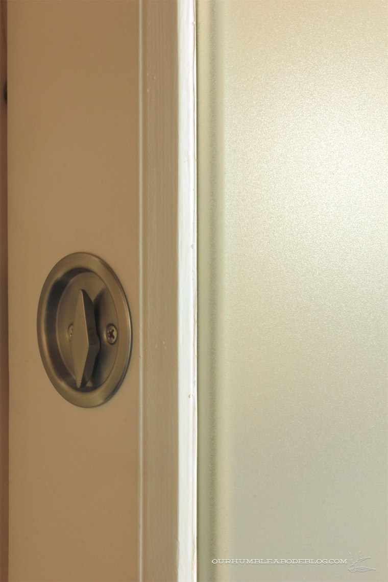 Pool-House-Bathroom-Pocket-Door-Frosting-Film