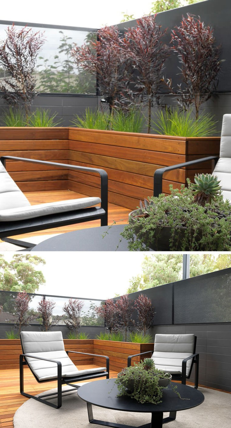 Contemporist Built in Planter