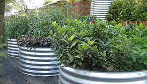 Horizontal Culvert Planter