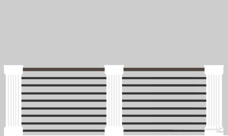 Railing-Rendering-Horizontal-Railing