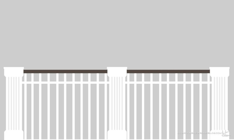 Railing-Rendering-Single-Baulsters-Divided