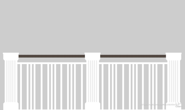 Railing-Rendering-Triple-Single-Baulsters