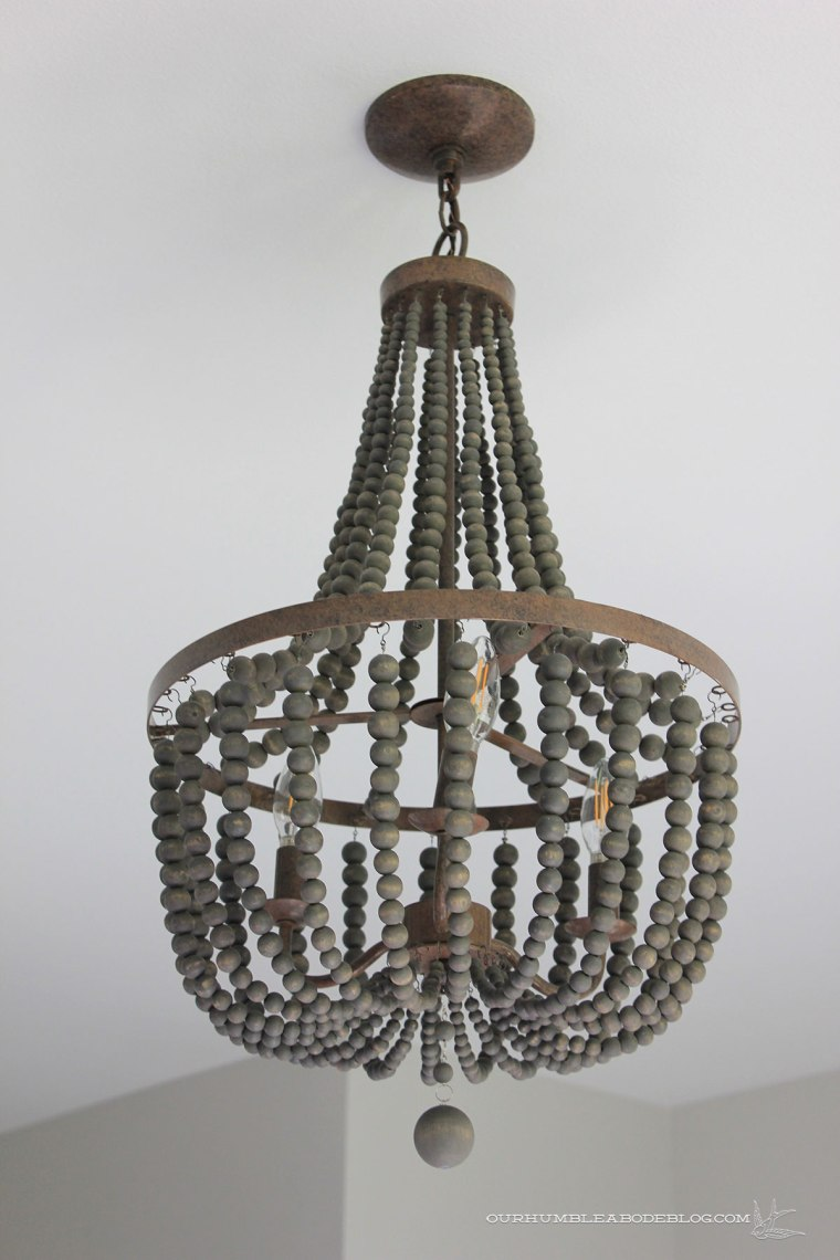 Wooden-Beaded-Chandelier