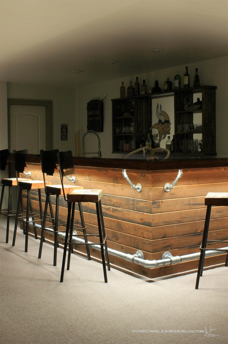 Rustic-Bar-with-Under-Bar-Lights