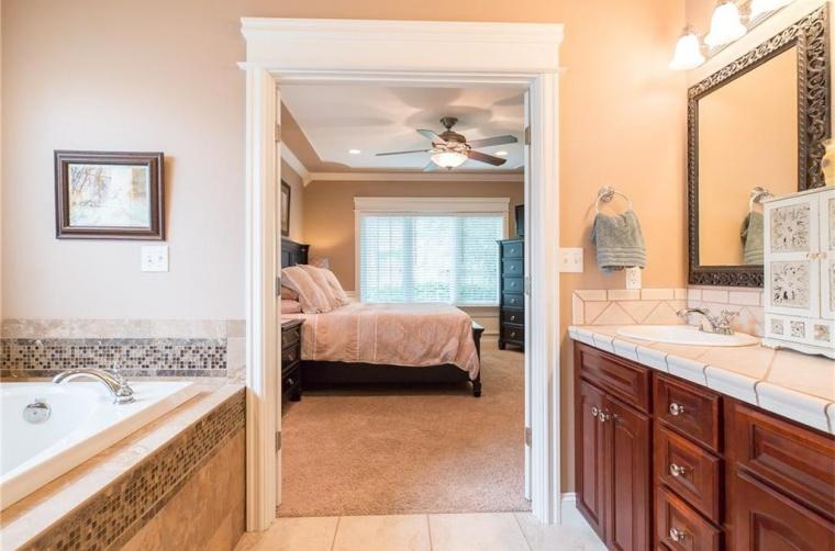 bathroom to bedroom before