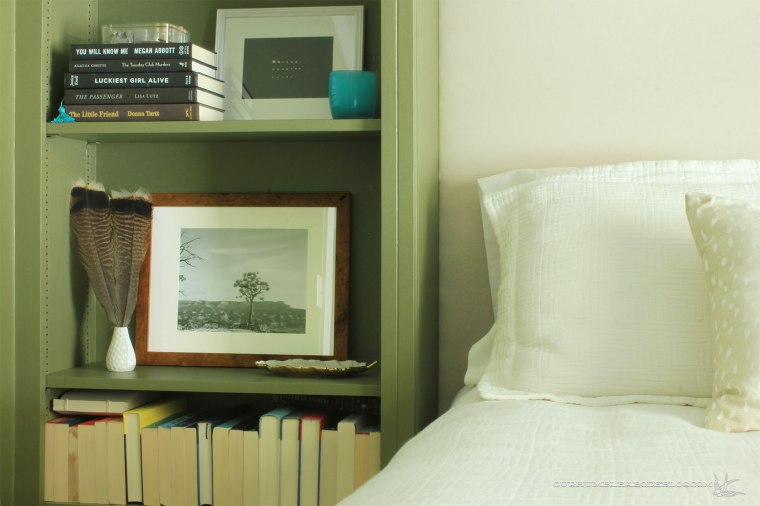 Green-Bookshelves-Styled-Left-Night-Stand