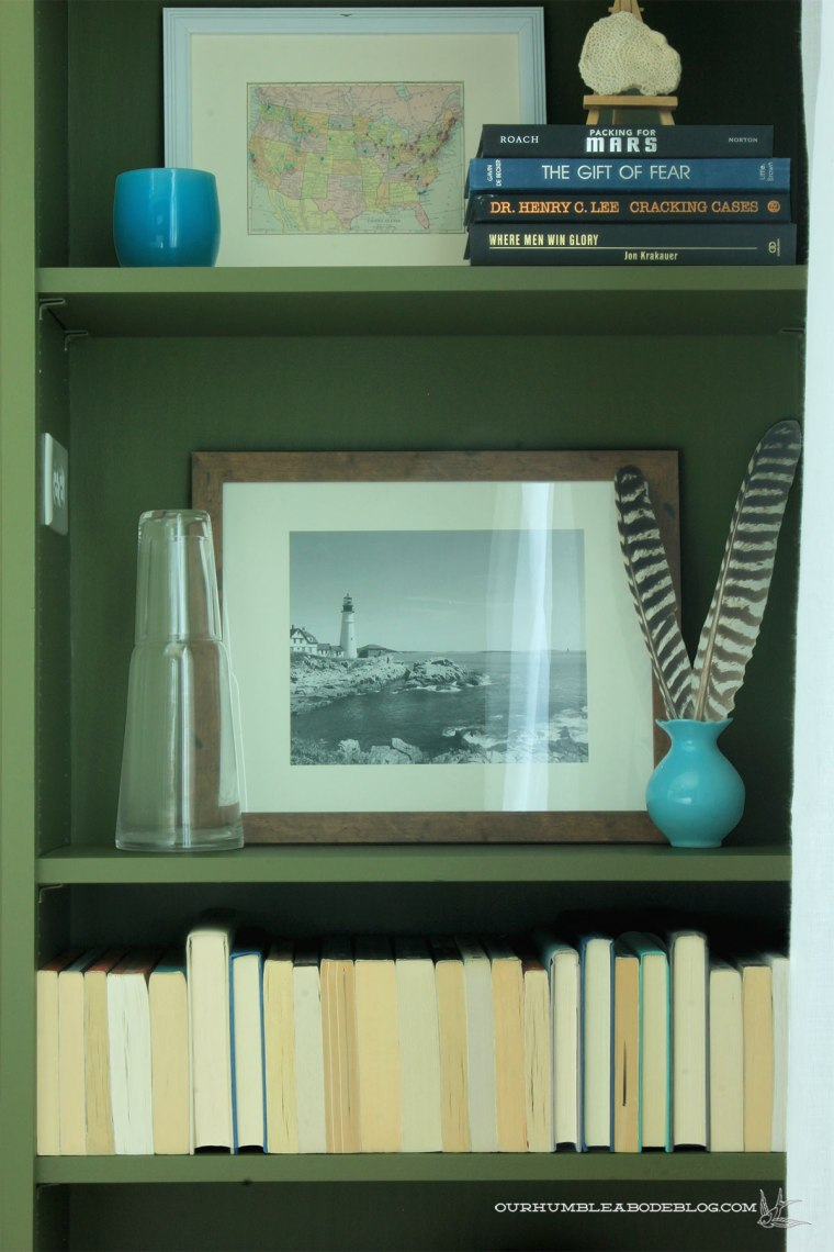 Green-Bookshelves-Styled-Right-Night-Stand-Detail