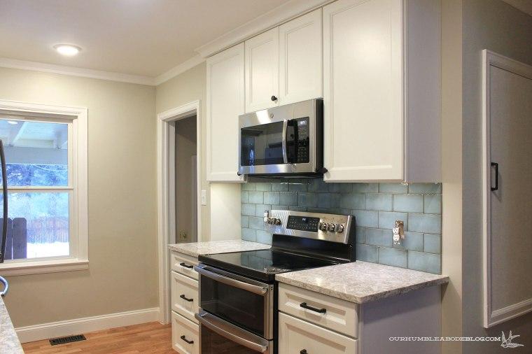 Cottage-Kitchen-Range-Wall-Progress-Toward-Hall
