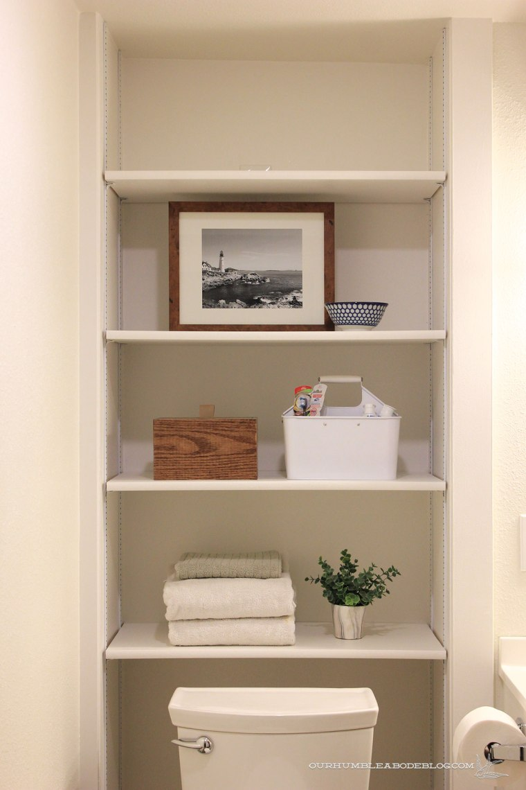 Basement-Bath-Addition-Shelves-Detail
